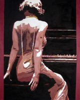 Girl At The Piano ***SOLD***