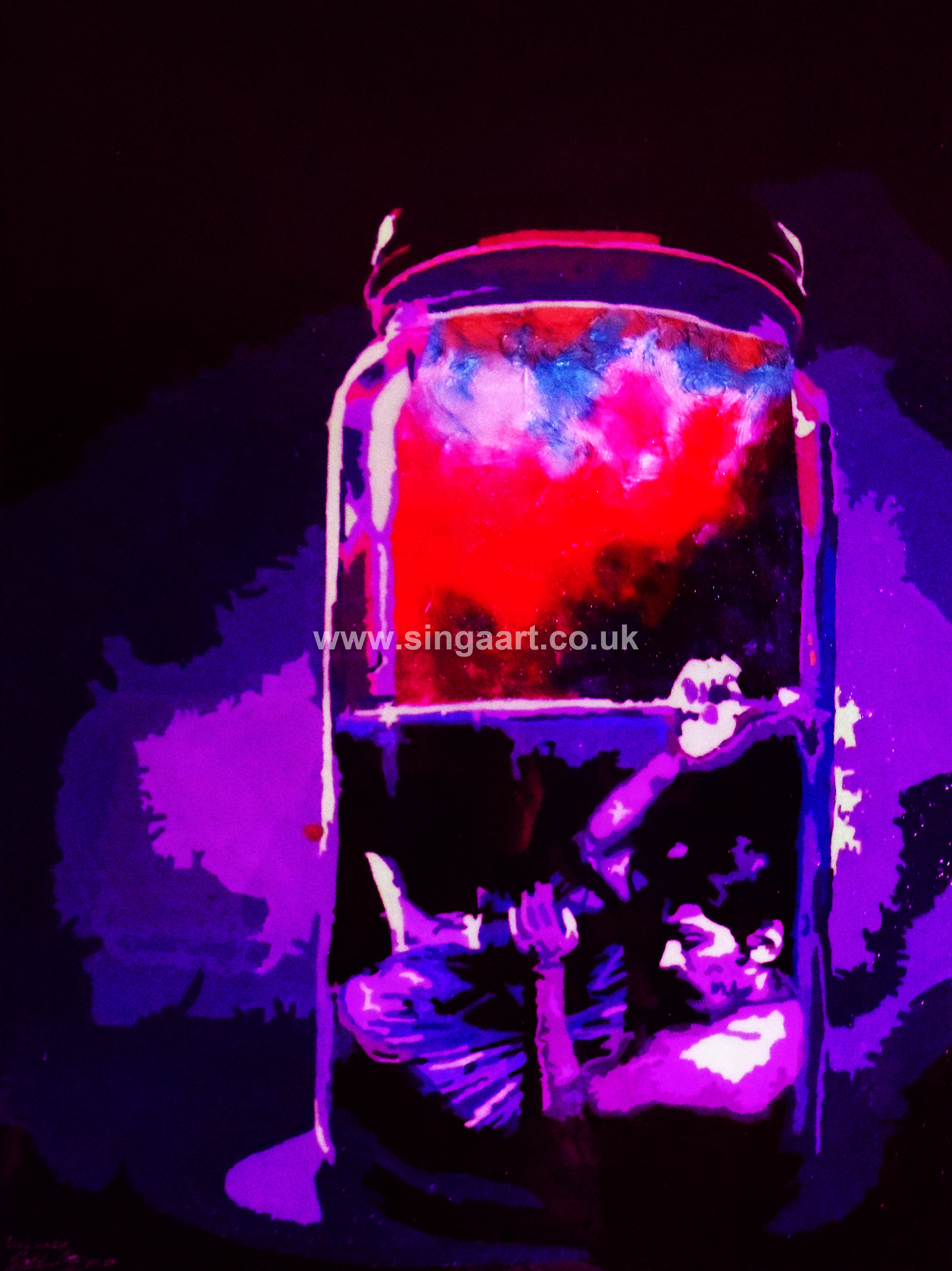 Title: Soul In A Jar **NEW PAINTING**