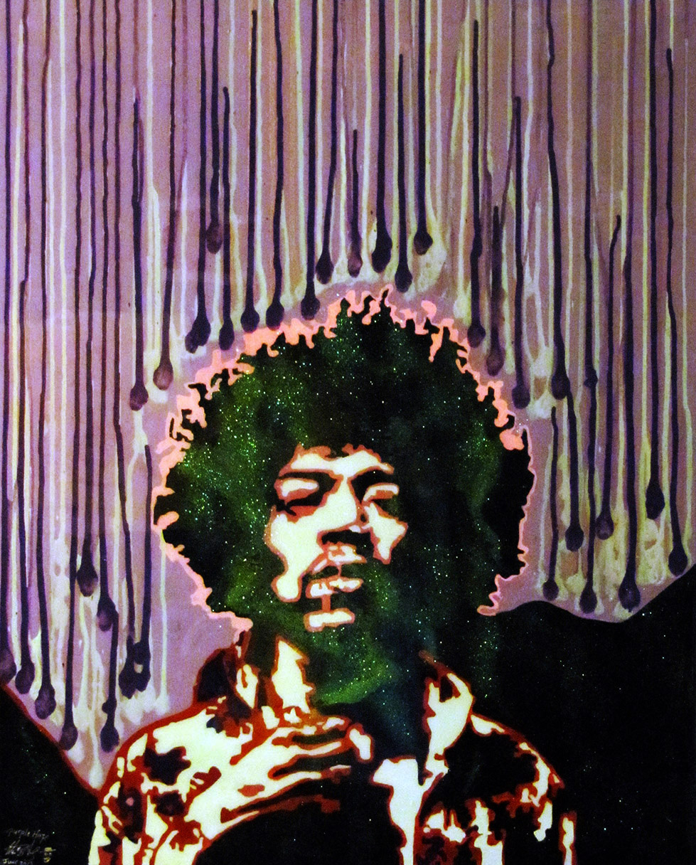 Purple Haze – Jimmy Hendrix *****SOLD***