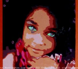 Mixed Race Princess