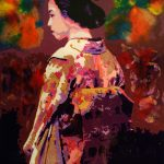 ***NEW PAINTING*** Momoko – Peach Child (桃子) From The Asian Affair Series